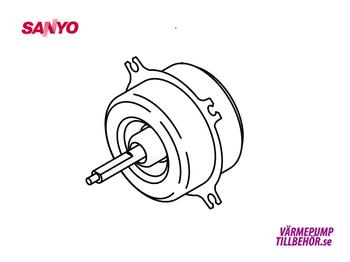 Fäktmotor Sanyo utedel