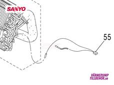 Sanyo sensor innedel