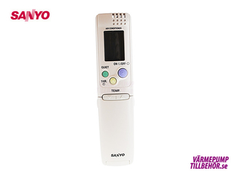 Fjärrkontroll till Sanyo SAP-KRV93/123EHNA