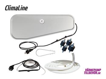 ClimaLine Pancake 2 tråg komplett paket för luft-vatten
