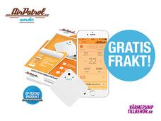 AirPatrol Nordic fjärrstyrning app/SMS - fri frakt!