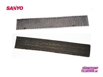 Clima Plus mikrofilter till Sanyo luftvärmepump (2-pack)