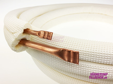 "Copper tube with external dimension 1/4""-3/8"", 20 meters"