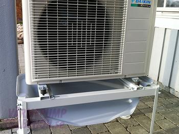 Avledare för kondens- och avfrostningsvatten